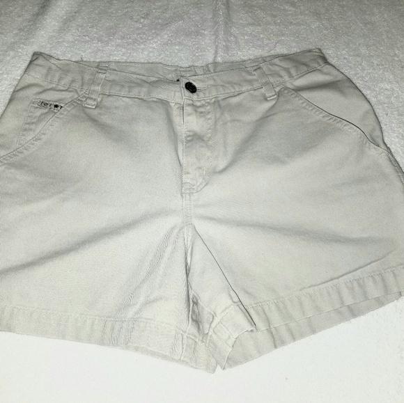 L.E.I. Pants - Work wear by L.E.I. Tan Cream shorts